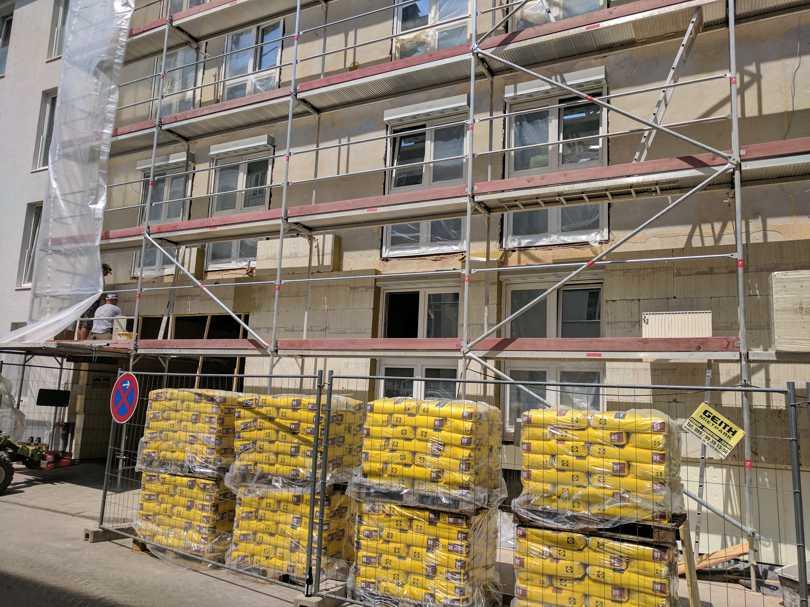 Sanierung Studentenwohnheim Emanuelstrasse